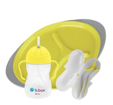 Lemon Sherbet - Zestaw do karmienia - żółto/ szary - B.BOX