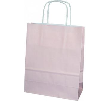 Torba prezentowa mała - różowa - Torebka Papierowa