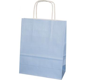 Torba prezentowa mała - niebieska - Torebka Papierowa