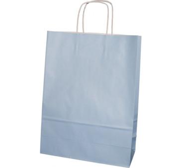 Torba prezentowa średnia - niebieska - Torebka Papierowa