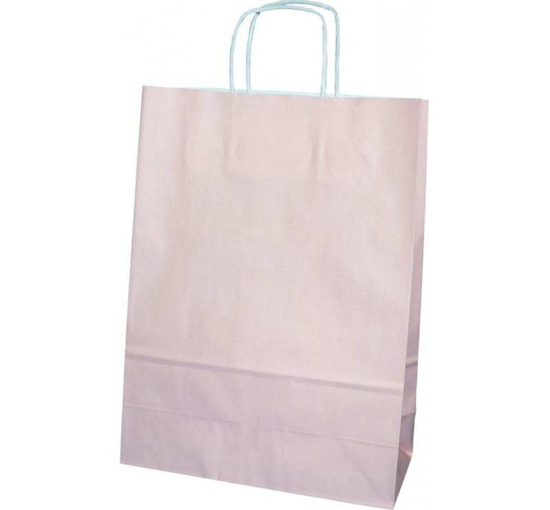Torba prezentowa średnia - różowa