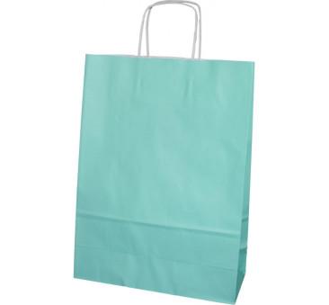 Torba prezentowa średnia - zielona - Torebka Papierowa