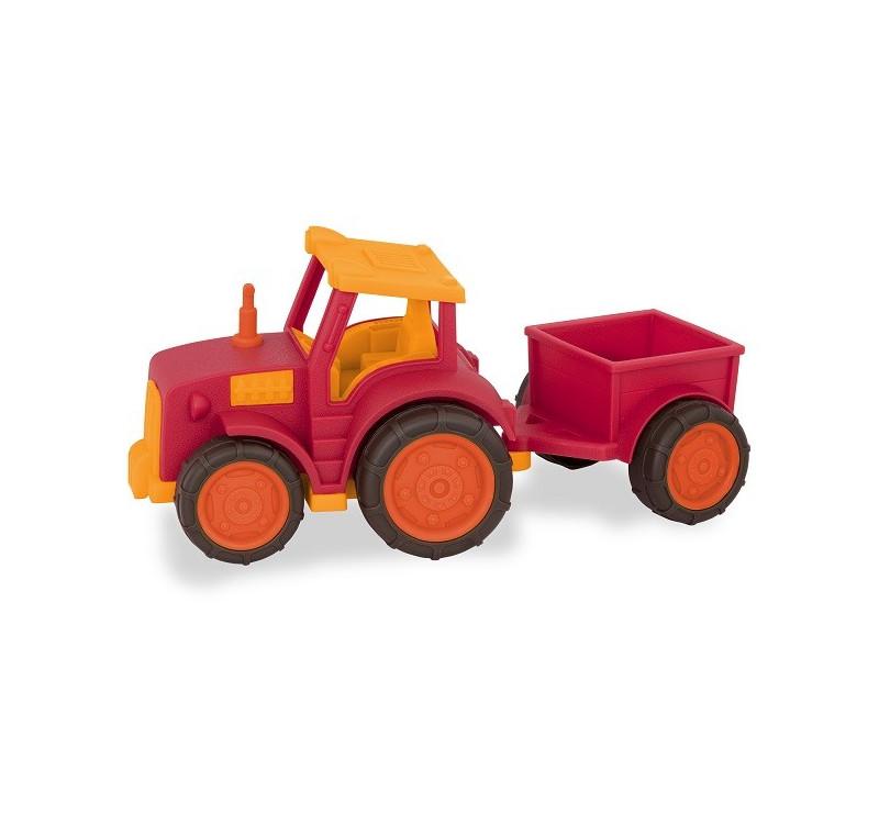 TRAKTOR Z PRZYCZEPKĄ – Tractor - Wonder Wheels