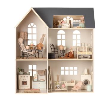 Drewniany domek dla lalek - House of miniature - Dollhouse - Maileg
