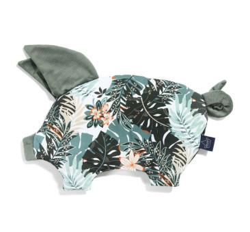 Podusia Sleepy Pig - Papagayo - Khaki - La Millou - Velvet Collection