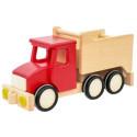 Wywrotka czerwona - Tipper - drewniane auto