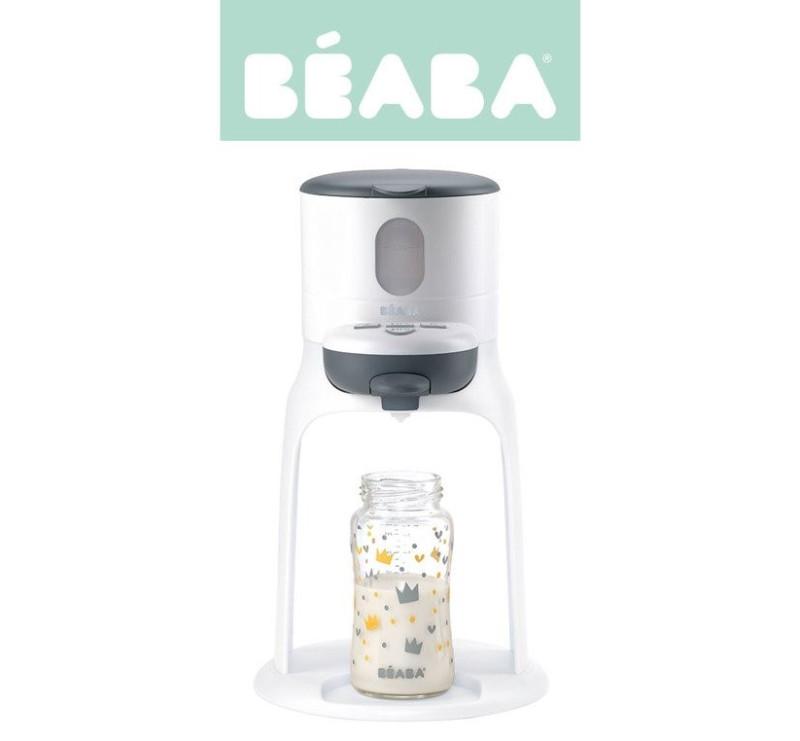Nowy Bib'expresso® Ekspres do mleka 3w1 - white/grey - Beaba