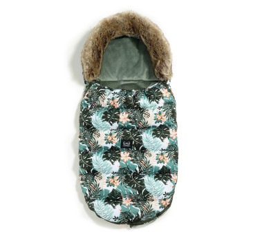Śpiwór - Stroller Bag Uni - Aspen Winterproof - Papagayo & Khaki - La Millou