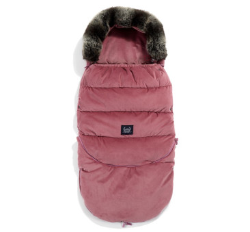 Śpiwór - Stroller Bag Combo - Aspen Winterproof - Mulberry - La Millou - Velvet Collection