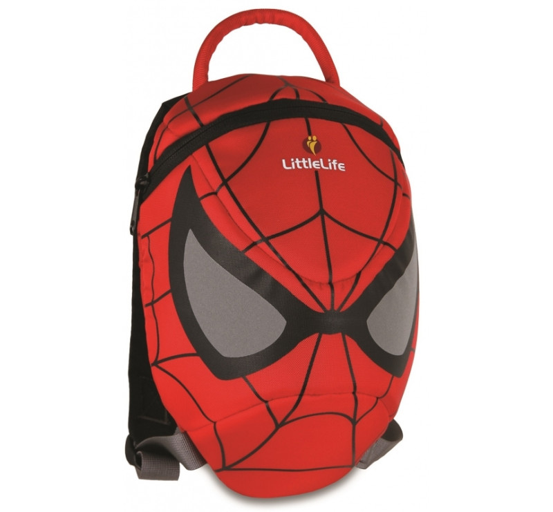 Plecaczek odblaskowy Little Life - Spidermanl 1-3