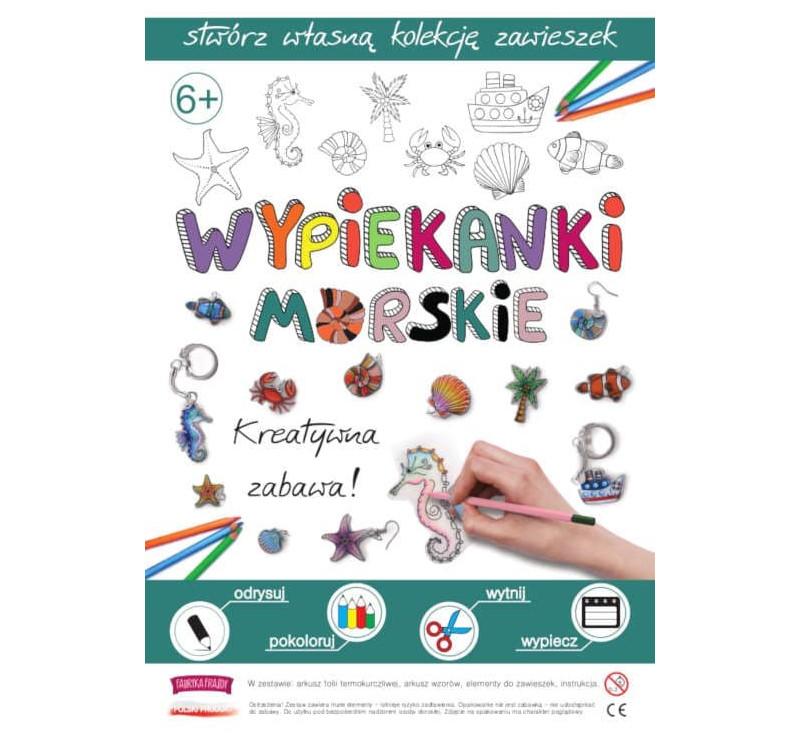 Morskie Wypiekanki - Breloczki, Zawieszki, Kolczyki - Fabryka Frajdy
