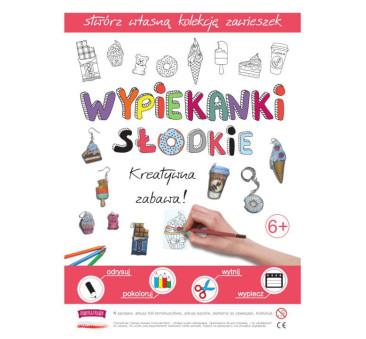 Słodkie Wypiekanki - Breloczki, Zawieszki, Kolczyki - Fabryka Frajdy