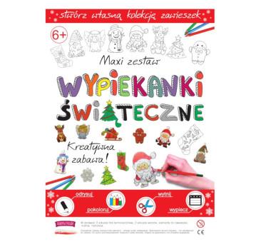 Świąteczne Wypiekanki - Breloczki, Zawieszki, Kolczyki, Girlanda - Fabryka Frajdy