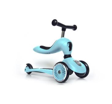 Blueberry - Highwaykick1 2w1 - Jeździk i hulajnoga 1-5 lat - Scootandride