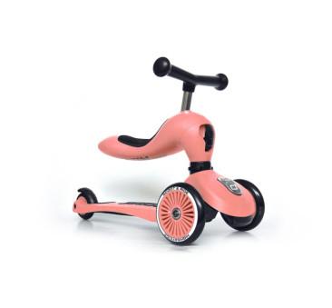 Peach - Highwaykick1 2w1 - Jeździk i hulajnoga 1-5 lat - Scootandride Scoot&Ride