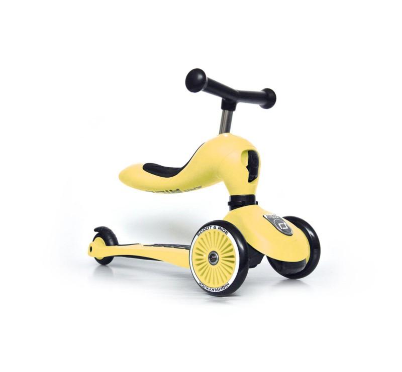 Lemon - Highwaykick1 2w1 - Jeździk i hulajnoga 1-5 lat - Scootandride