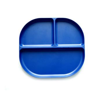 Royal Blue - Bambusowy - Talerz z Przegródkami - EKOBO