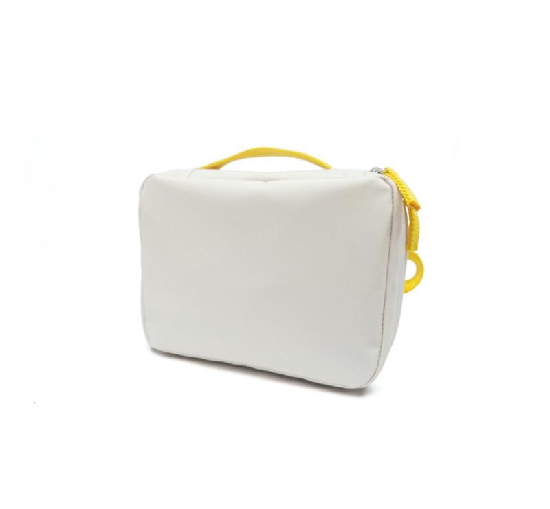 White/ Lemon - Lanczówka - Lunch Bag - Biała/ Żółta - EKOBO