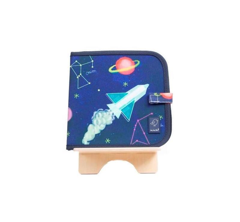 Constellations/ Konstelacje - Kolorowanka Z Kredą - Color It Book - Jaq Jaq Bird