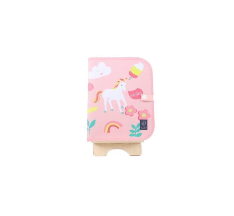 Unicorn/ Jednorożce - Książeczka Do Rysowania Kredą - Doodle It Mat - Jaq Jaq Bird
