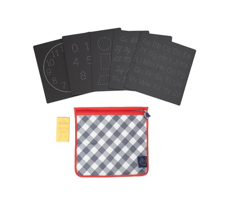 Literki i Cyferki - Tabliczki Kredowe - Zestaw 5 sztuk - Board Series - Jaq Jaq Bird