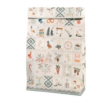 Torebka Papierowa - Gift Bag Days Of December - Maileg