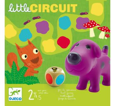 LITTLE CIRCUIT - Wyścig - Gra Planszowa Dla Najmłodszych - Djeco