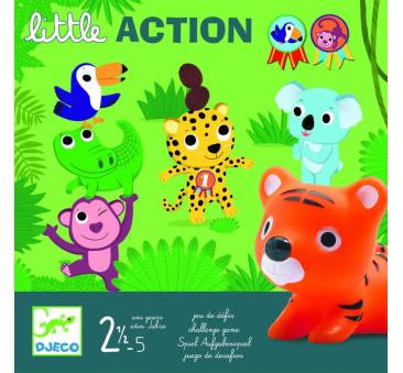 LITTLE ACTION - Wyzwanie - Gra - Djeco