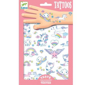 Jednorożce - Tatuaże - Djeco
