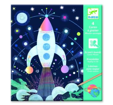 Kosmos - Wydrapywanka - Djeco