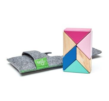 BLOSSOM - Prism - 6szt - Drewniane Klocki Magnetyczne - Tegu