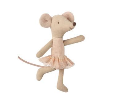 Myszka Baletnica - Ballerina Mouse - Little Sister - Maileg