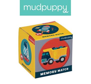 Środki Transportu - Memory - Gra Mini - Mudpuppy