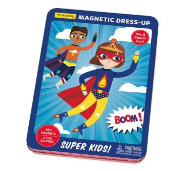 SUPER DZIECIAKI - Magnetyczne Postacie - Mudpuppy