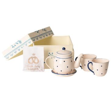 Ciasteczka i Herbatka - Tea & Biscuits For Two - Akcesoria dla Lalek - Maileg
