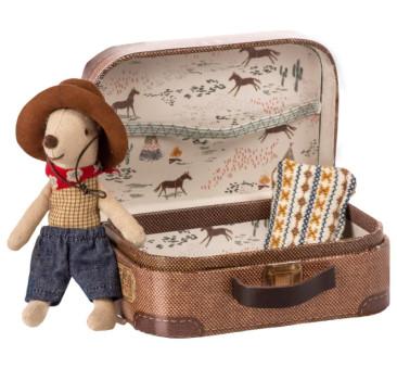Myszka Kowboj w Walizce - Cowboy in Suitcase - Little Brother - Maileg