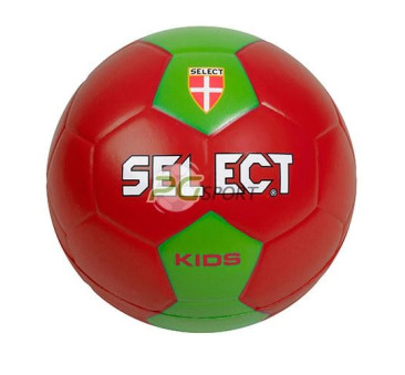Select piłka ręczna KIDS II Czerwono - zielona 47 cm