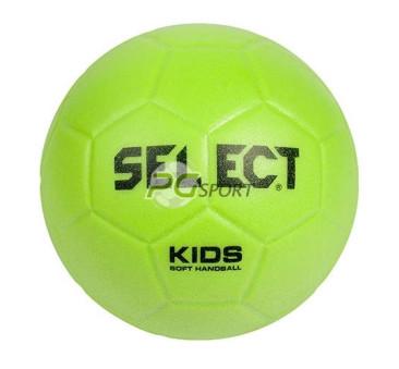 Select piłka ręczna SOFT KIDS MINI zielona