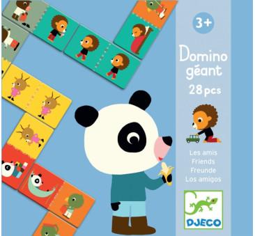 Przyjaciele - Domino Gigant - Djeco