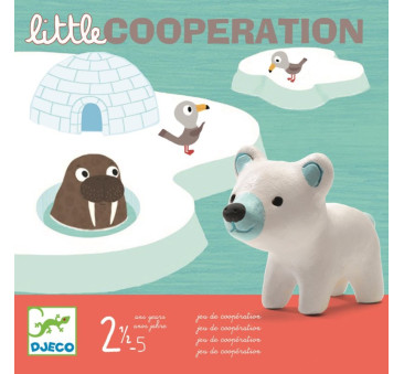 ZWIERZAKI NA ARKTYCE - Little cooperation - Gra - Djeco