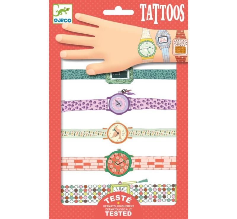ZEGARKI WENDY - tatuaże metaliczne - Djeco