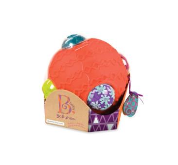 Kula sensoryczna z piłkami - Ballyhoo - Wersja Koralowa - BTOYS