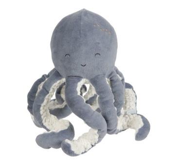 Błękitna - Przytulanka Ośmiornica Ocean - 23 cm - Little Dutch