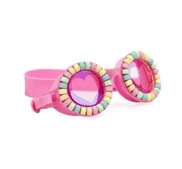 Pudrowe Cukierki - Okulary Do Pływania - Pink Donut - Bling2O
