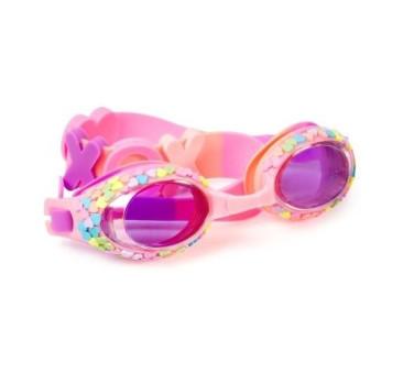 Pastelowe Serduszka - Okulary Do Pływania - Bling2O