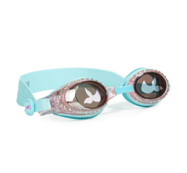 Syrenka - Okulary Do Pływania - Turkusowe - Bling2O