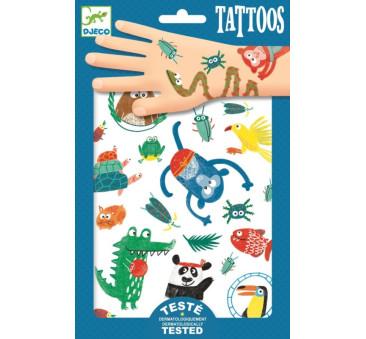 Zwierzaczki - Tatuaże - Djeco