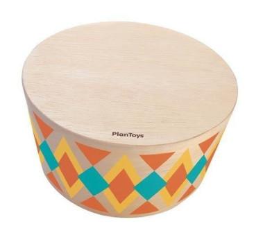Bęben Rytmiczny - Plan Toys - Montessori