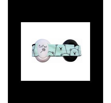 Słuchawki Wygłuszające - Panda Mięta - EciPeci