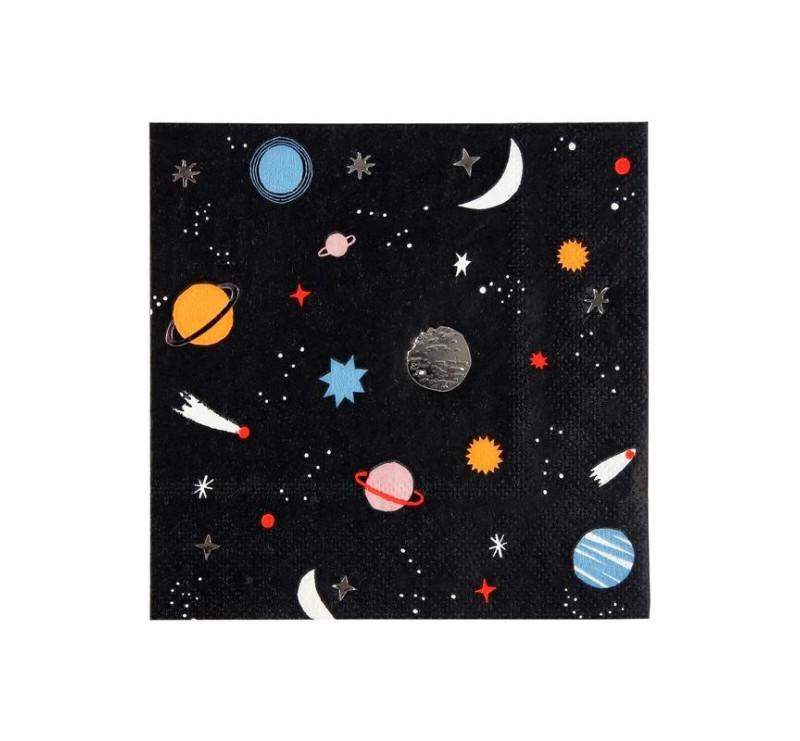 Małe Serwetki - Kosmos - Meri Meri